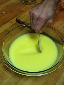 Image of ghee being made